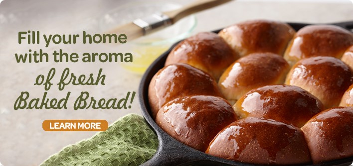 Fill your home with the aroma of fresh Baked Bread